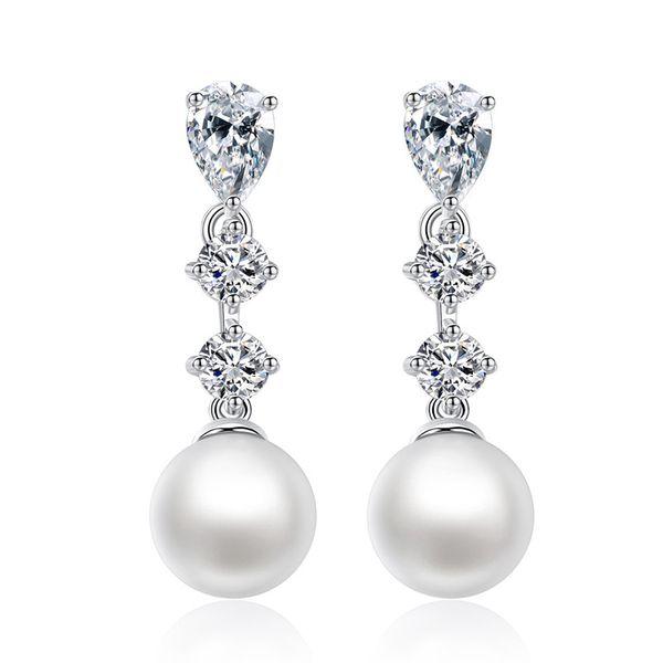 Alloy Korea Geometric earring  (Platinum T07E15) NHTM0475-Platinum-T07E15