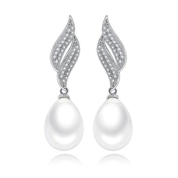 Alloy Fashion Geometric earring  (Platinum-T09H19) NHTM0479-Platinum-T09H19