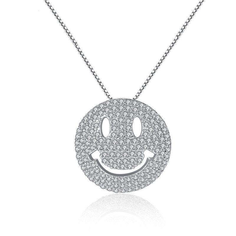 Alloy Fashion Geometric necklace  (Platinum-T10H01) NHTM0510-Platinum-T10H01