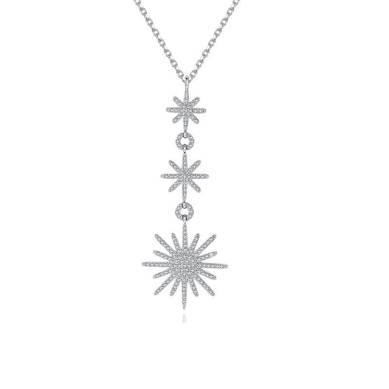 Alloy Simple Geometric necklace  PlatinumT11G25 NHTM0525PlatinumT11G25