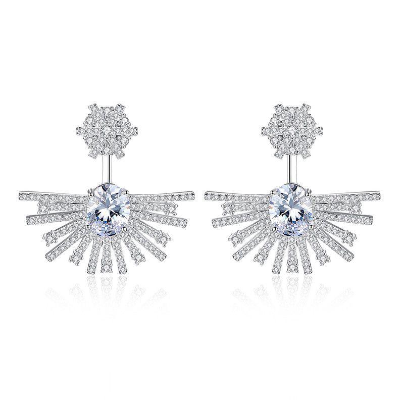 Alloy Fashion Geometric earring  PlatinumT09I13 NHTM0561PlatinumT09I13