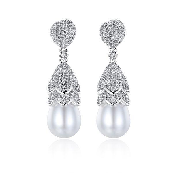 Alloy Korea Geometric earring  (Platinum-T07G15) NHTM0571-Platinum-T07G15