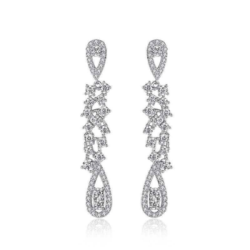 Copper Korea Geometric earring  (Platinum-T06D19) NHTM0573-Platinum-T06D19