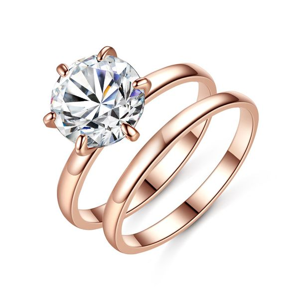 Alloy Fashion Geometric Ring  (R03018k alloy 8.5) NHTM0595-R03018k-alloy-8.5