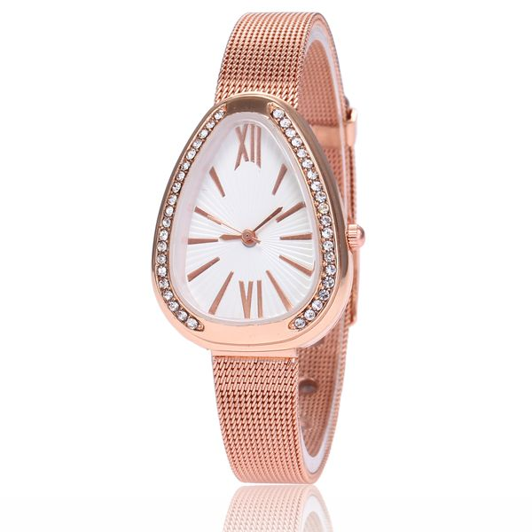 Alloy Fashion  Ladies watch  (white) NHMM2237-white