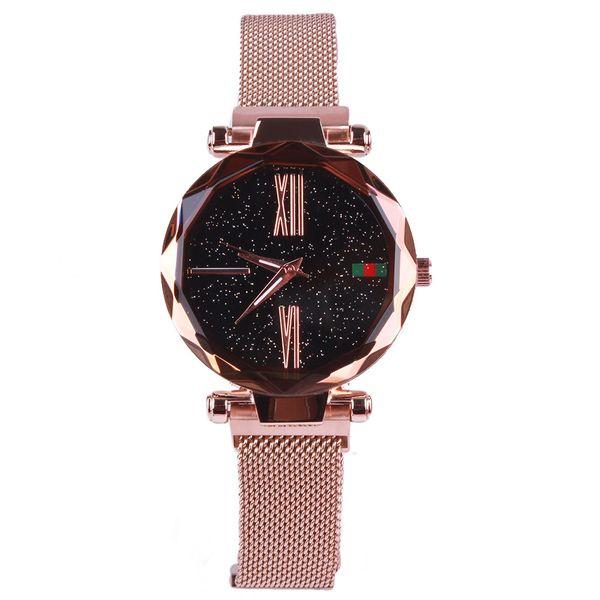 Alloy Fashion  Ladies watch  (1-rose alloy) NHMM2238-1-rose-alloy