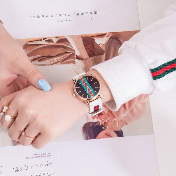 Alloy Fashion  Ladies watch  (white) NHSY1715-white