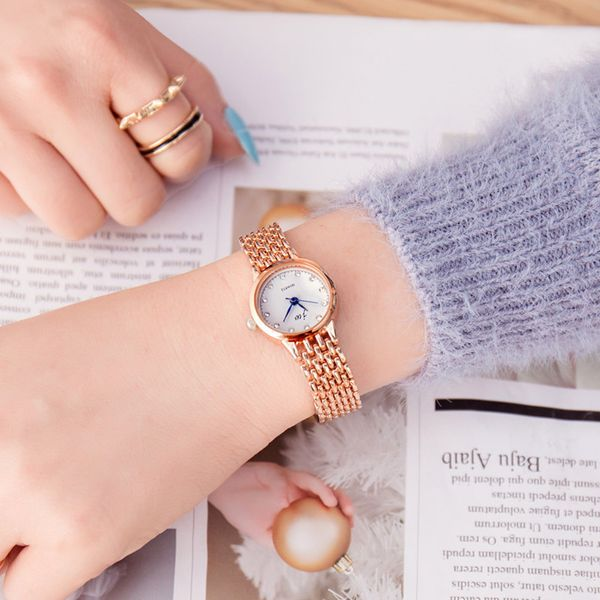 Alloy Fashion  Ladies watch  (Rose alloy) NHSY1722-Rose-alloy