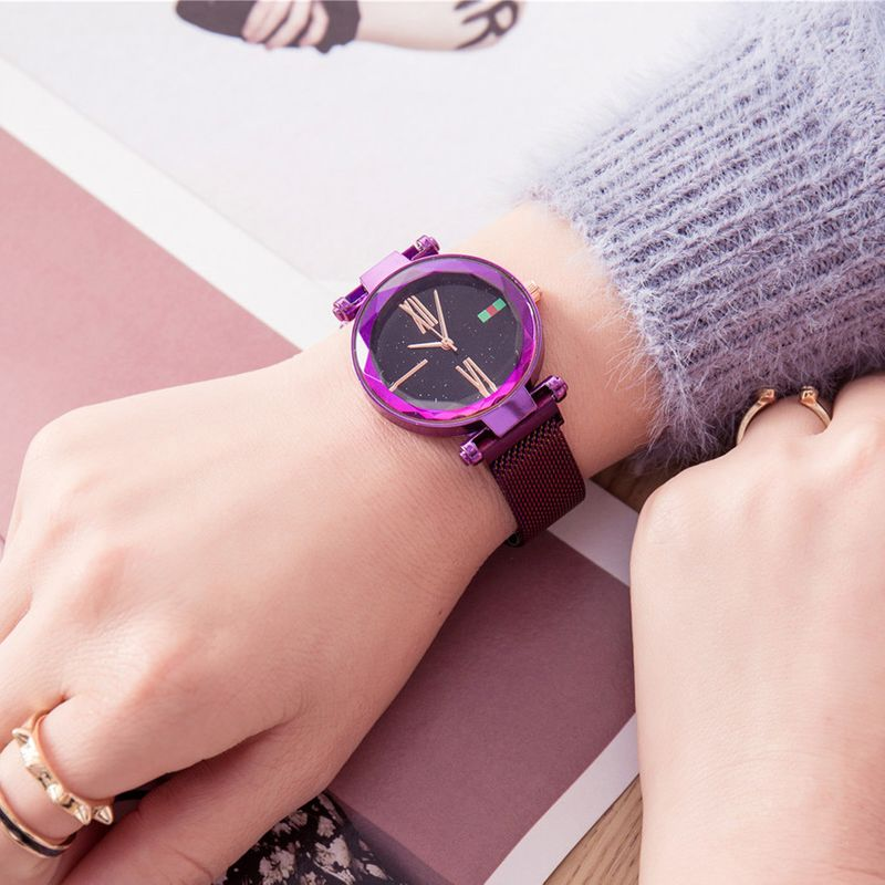 Alloy Fashion  Ladies watch  (purple) NHSY1725-purple