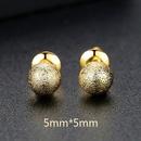 Alloy Simple Geometric earring  5mmT01G20 NHTM04595mmT01G20