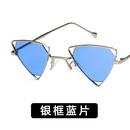 Alloy Vintage  glasses  Alloy frame gray piece NHKD0521Alloyframegraypiece