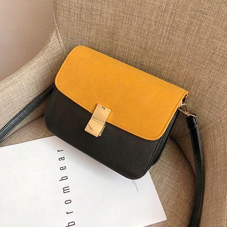Polyester Korea  Shoulder bag  (yellow) NHTC2018-yellow