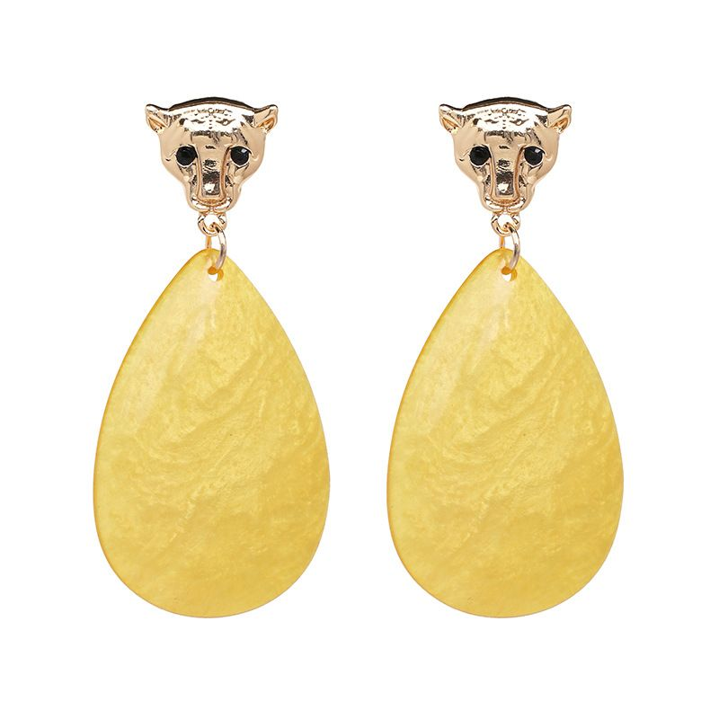 Plastic Fashion Geometric earring  (51369) NHJJ5323-51369