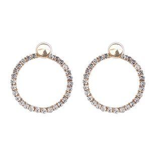 Alloy Fashion Geometric earring  (white) NHJJ5325-white's discount tags
