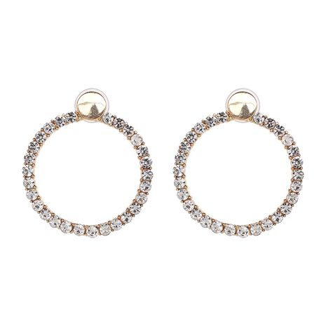 Alloy Fashion Geometric earring  (white) NHJJ5325-white's discount tags