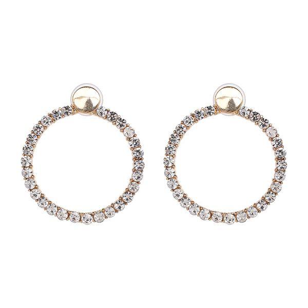 Alloy Fashion Geometric earring  (white) NHJJ5325-white