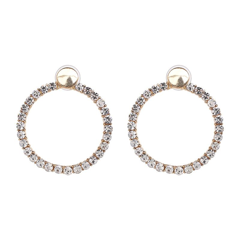 Alloy Fashion Geometric earring  (white) NHJJ5325-white