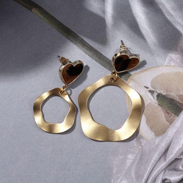 Imitated crystal&CZ Fashion Geometric earring  (Alloy) NHIM1458-Alloy