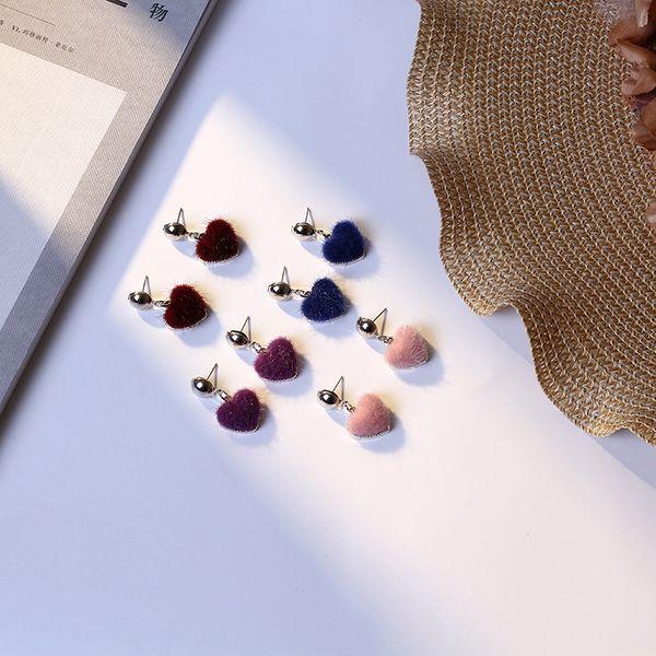 Alloy Fashion Geometric earring  (purple) NHIM1464-purple
