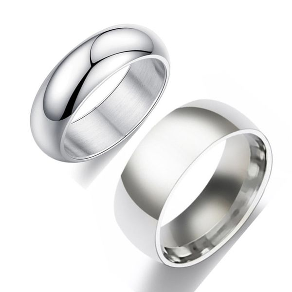 Titanium&Stainless Steel Fashion  Ring  (6mm alloy-5) NHIM1468-6mm-alloy-5