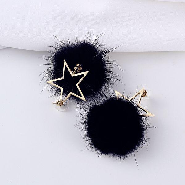 Alloy Fashion Geometric earring  (white) NHIM1481-white