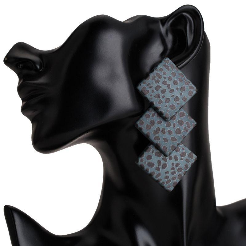 Alloy Fashion Geometric earring  (blue) NHJE2173-blue