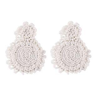 Alloy Fashion Geometric earring  (white) NHJQ10988-white's discount tags