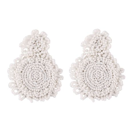Alloy Fashion Geometric earring  (white) NHJQ10988-white's discount tags