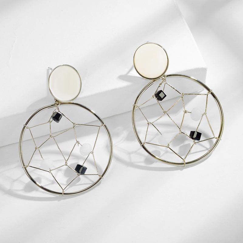 Alloy Korea Geometric earring  (Photo Color) NHLJ4199-Photo-Color