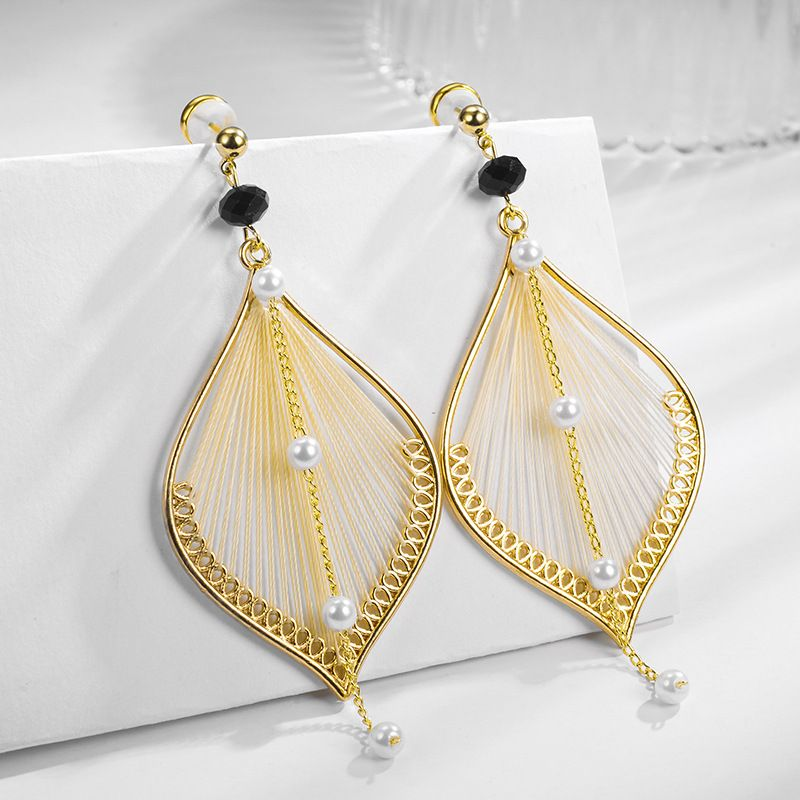 Alloy Fashion Geometric earring  (Photo Color) NHLJ4201-Photo-Color
