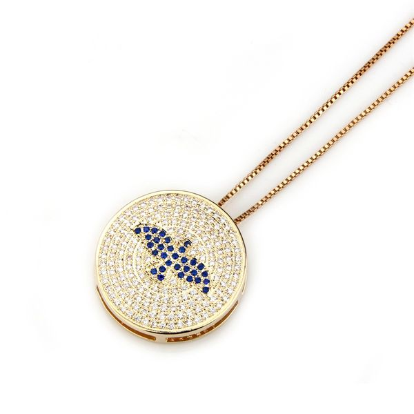 Copper Fashion Animal necklace  (Alloy) NHBP0157-Alloy-plated