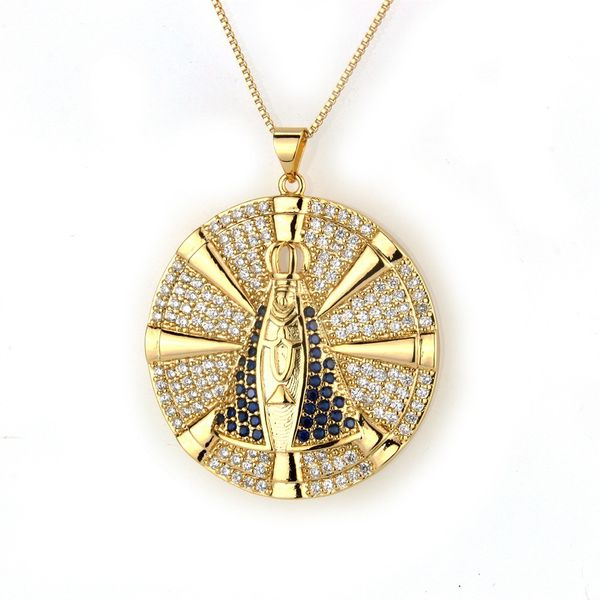 Copper Fashion Geometric necklace  (Alloy) NHBP0185-Alloy-plated
