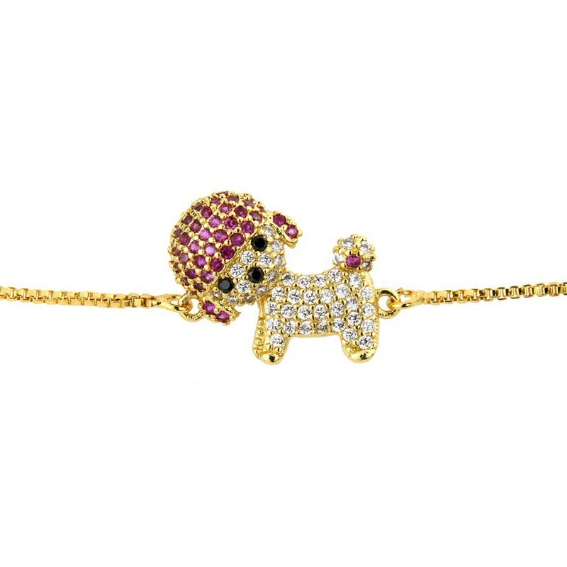 Copper Fashion Geometric bracelet  (Alloy) NHBP0195-Alloy