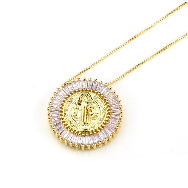 Copper Fashion Geometric necklace  Alloy NHBP0264Alloyplated