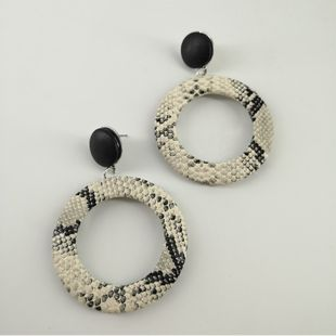 Alloy Fashion Geometric earring  (creamy-white) NHNZ1054-creamy-white's discount tags