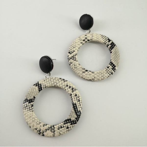 Alloy Fashion Geometric earring  (creamy-white) NHNZ1054-creamy-white