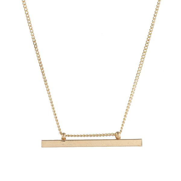Alloy Fashion Geometric necklace  (Alloy) NHNZ1057-Alloy