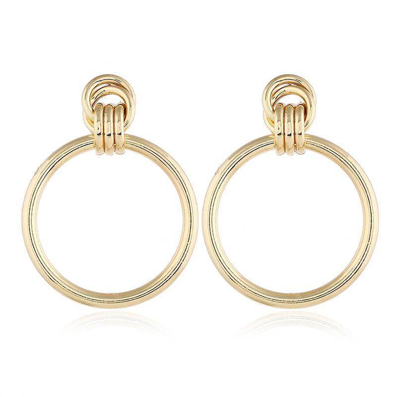 Alloy Fashion Geometric earring  (KC Alloy) NHNZ1065-KC-Alloy