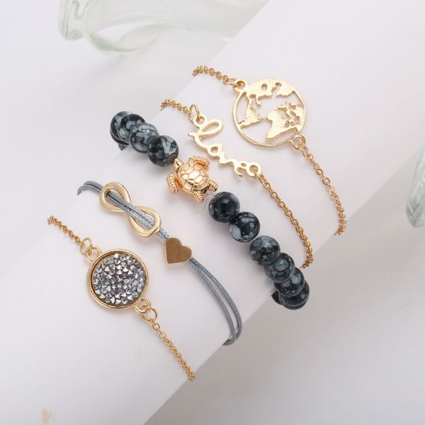 Alloy Fashion Geometric bracelet  (Alloy) NHNZ1066-Alloy