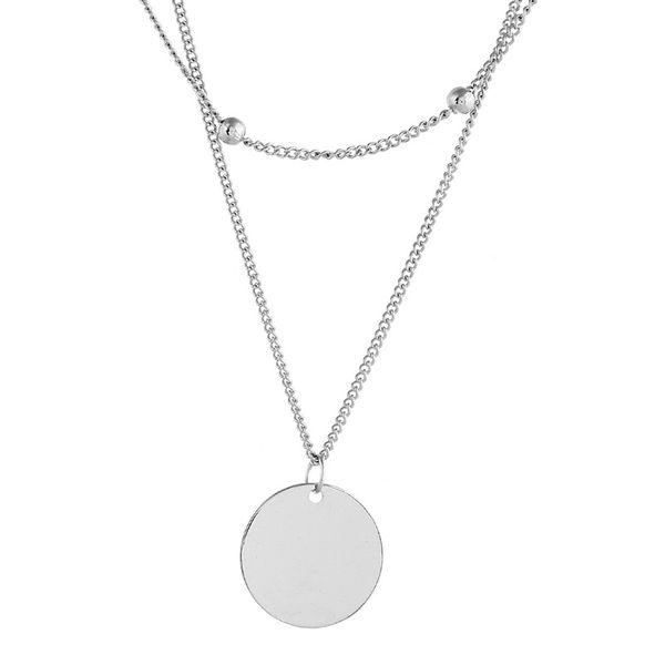 Alloy Fashion Geometric necklace  (Alloy) NHNZ1073-Alloy