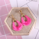 Cloth Fashion Geometric earring  yellow NHIM1456yellow
