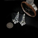 Imitated crystalCZ Simple Geometric earring  Alloy NHIM1471Alloy