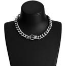Alloy Fashion Geometric necklace  Crown NHJE2176Crown