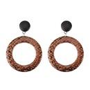 Acrylic Fashion Geometric earring  black NHJQ10976black