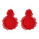 Alloy Fashion Geometric earring  white NHJQ10988white
