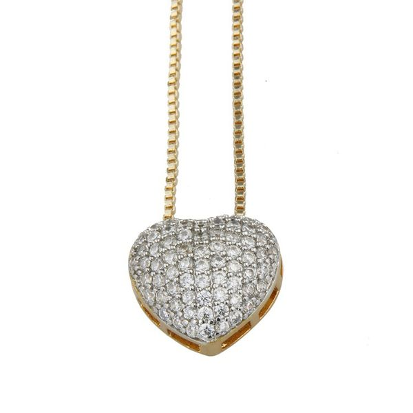 Copper Fashion Animal necklace  (Alloy-plated white zirconium) NHBP0280-Alloy-plated-white-zirconium