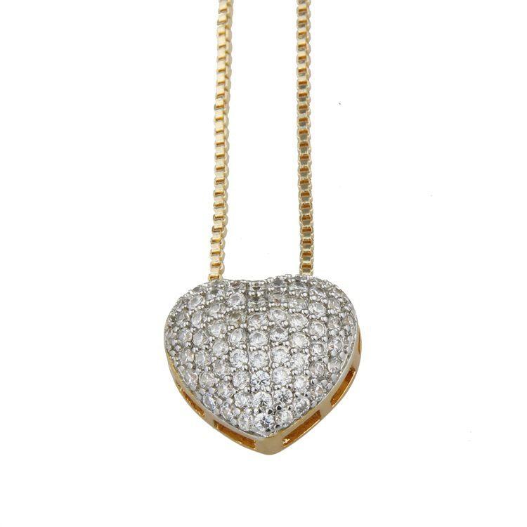 Copper Fashion Animal necklace  Alloyplated white zirconium NHBP0280Alloyplatedwhitezirconium