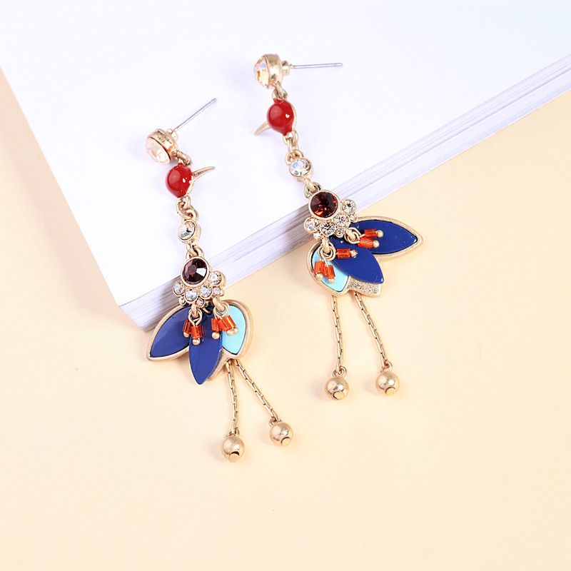 Alloy Fashion Animal earring  (Photo Color) NHQD5848-Photo-Color