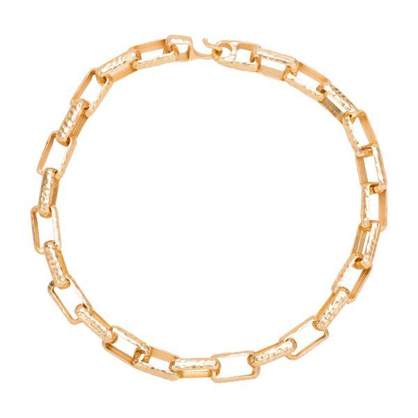 Alloy Fashion Geometric necklace  (Alloy) NHYT1345-Alloy