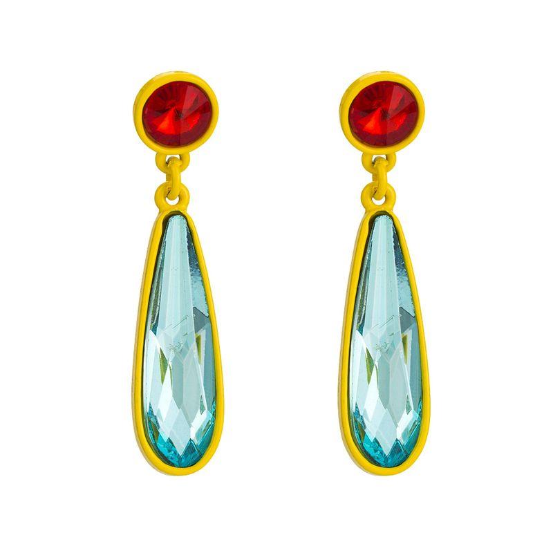 Alloy Fashion Geometric earring  (blue) NHYT1348-blue